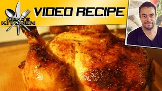 HOW TO ROAST CHICKEN - VIDEO RECIPE