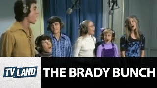 The Brady's Sing 'Time To Change' | The Brady Bunch | TV Land