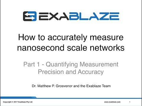 Part 1 - Quantifying Measurement Precision and Accuracy