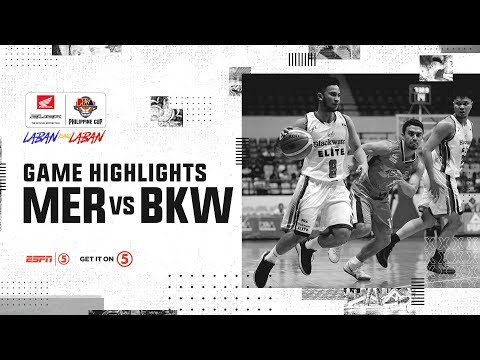 [Sport5]  Highlights: Meralco vs. Blackwater | PBA Philippine Cup 2019