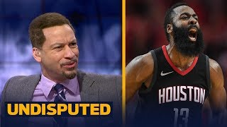 Chris Broussard on D'Antoni's comment that Harden is the 'best offensive player ever'   UNDISPUTED