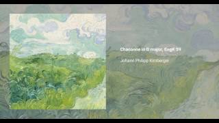 Chaconne in D major, EngK 59
