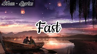 Juice WRLD – Fast Lyrics (CLEAN MUSIC VIDEO)
