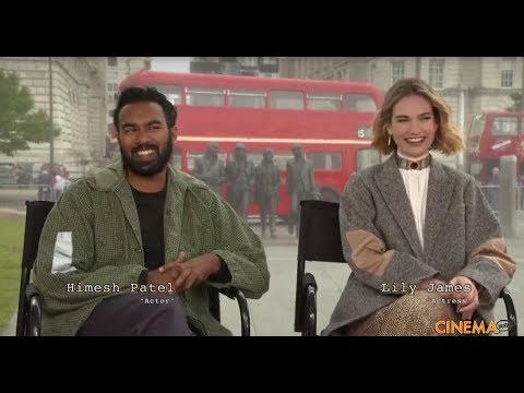"Himesh Patel And Lily James Talk About Their New Movie ""Yesterday""."