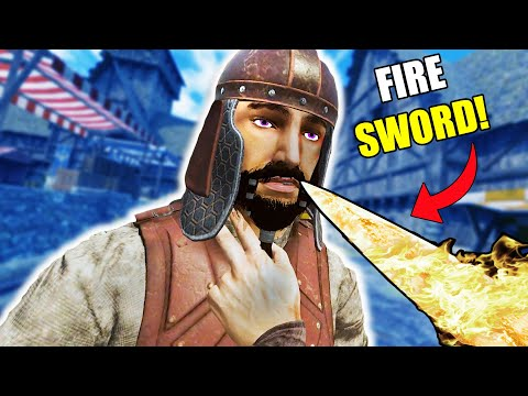 DESTROYING My ENEMIES with a FIRESWORD! in Blade and Sorcery UPDATE!