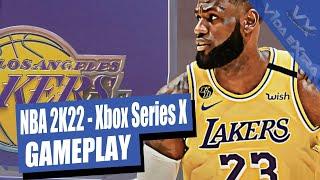 NBA 2K22 - Miami Heat vs LA Lakers. Partido completo