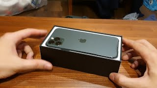 Unboxing my brand new iPhone 11 pro