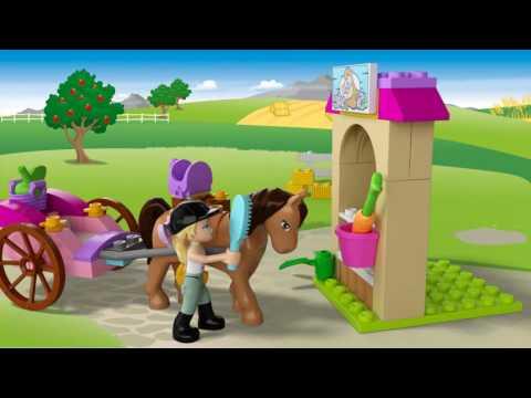 Vidéo LEGO Juniors 10726 : La calèche de Stéphanie