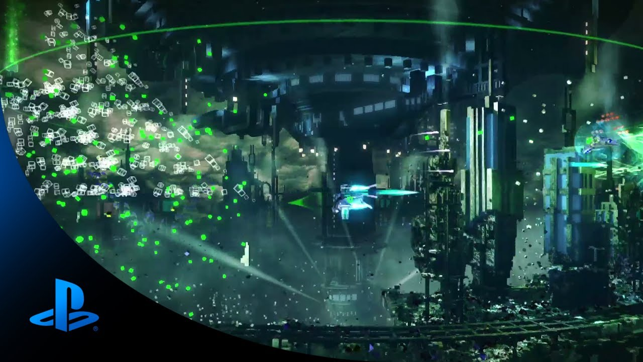 Inside the Explosions of Resogun on PS4