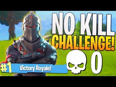 The No Kill Challenge Hard Ps4 Fortnite 0 Kill Challenge Game
