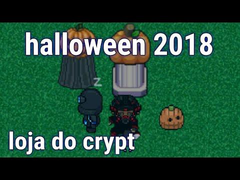 Abriu loja de halloween e crypt 2018 (Graal Online Era)