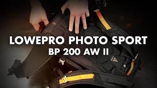 Lowepro Photo Sport BP 200 AW II - Kamerarucksack für Sport und Freizeit