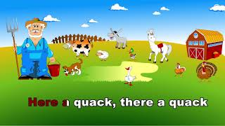 Old MacDonald Had A Farm Song - EBA İngilizce Şarkılar