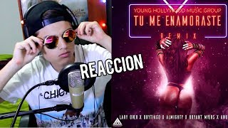 Anuel Aa,lary Over, Bryant Myers, Brytiago, Almighty - Tu Me Enamoraste    Reaccion !