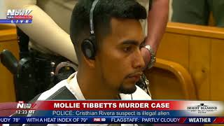 MOLLIE TIBBETTS Suspected Killer First Appearance Hearing