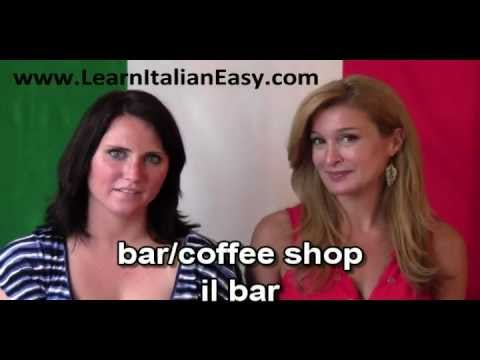 Learn Italian Easy: ALL ABOUT COFFEE
