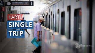 Penerapan New Normal dengan Kurangi Kontak Fisik, MRT Hentikan Penjualan Kartu Single Trip