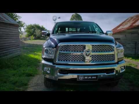 YouTube Video of the Ram Trucks Australia introduce the Legendary American Pickup