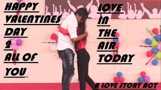 #VALENTINE_DAY SPECIAL | LOVE STORY ACT | FARRUKHNAGARIA @SGT UNIVERSITY