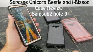 Supcase Unicorn Beetle & i-Blason Cases for Samsung Galaxy Note 9