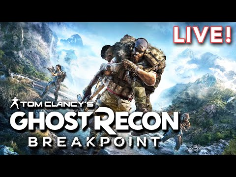 Tom Clancy's Ghost Recon Breakpoint Beta (with Joshua & Paul)