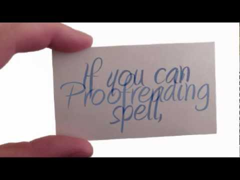 Proofreading Courses Shouldn't Cost a Small Fortune - YouTube