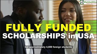Top 10 Fully Funded Scholarships In USA For International Students   Top 10 Series