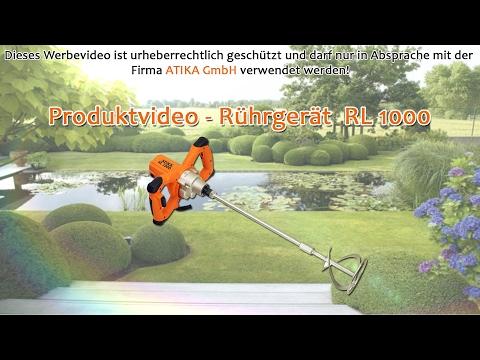 ATIKA Produktfilm - Rührgerät RL 1000