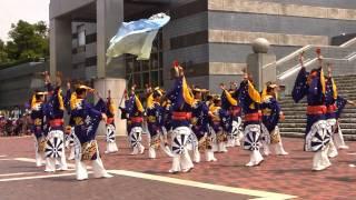 舞華(こころの華・たまよさこい2011・パルテノン多摩前・ステージ)