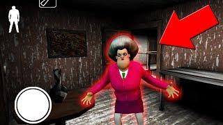 Миссис Т стала новой бабкой гренни, и хочет меня поймать !!! Scary Teacher