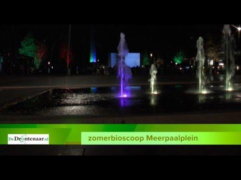 VIDEO | Zomerbioscoop op Meerpaalplein kan zomaar een jaarlijks evenement worden