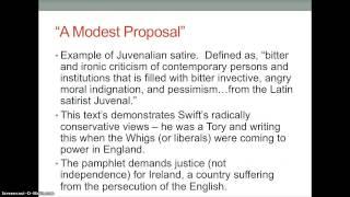 Jonathan Swift Lecture