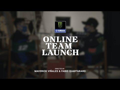 モンスターエナジーYAMAHA MotoGP2021年の新型マシンとチーム体制ローンチのライブ配信動画