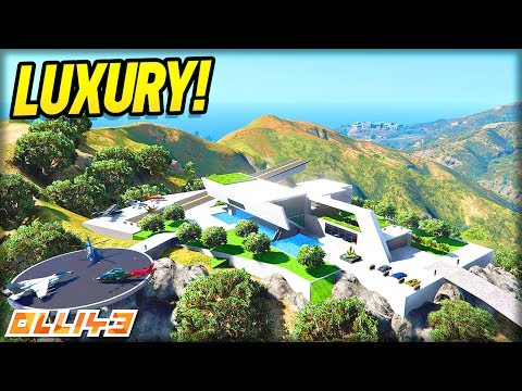 GTA 5 : New Luxury House Tour! (GTA 5 Mods)