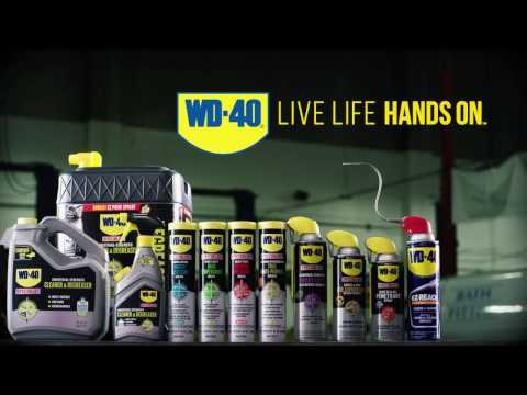 How to Live Life Hands On with WD-40®  Brand Products