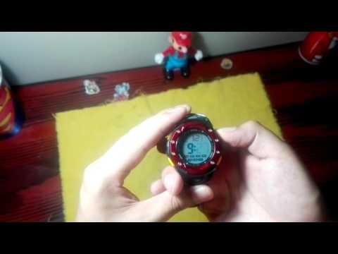 Tutorial:como programar la hora en un reloj digital