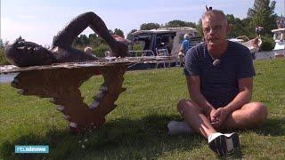 Jenno regelde een standbeeld voor Maarten van der Weijden  - RTL NIEUWS