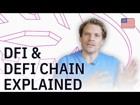DeFi Chain and DFI token explained in detail