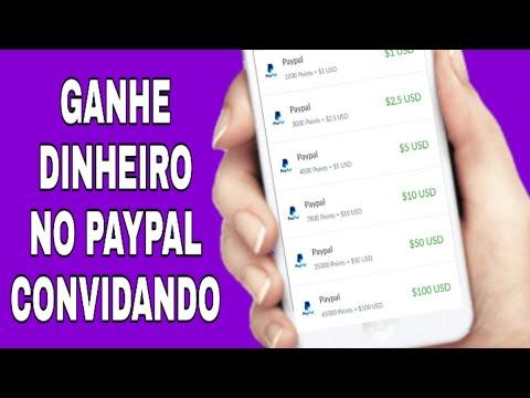 INCRÍVEL - Como Ganhar Dinheiro no Paypal CONVIDANDO (Money no paypal)