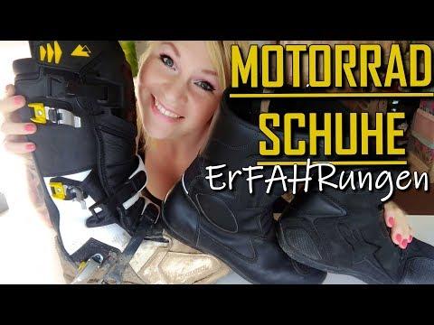 MOTORRADSCHUHE    Touratech, Alpinestar, ProBiker    Mein ErFAHRungsbericht