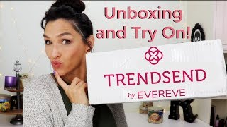 Trendsend by Evereve Unboxing and Try On Review January 2018