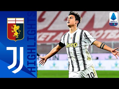 Genoa 1-3 Juventus   Goals from Dybala and Ronaldo hand Juve the win   Serie A TIM