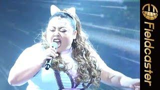 渡辺直美、アリアナグランデの「BreakFreeft.Zedd」を生歌で披露するも...。