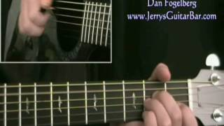 How To Play Dan Fogelberg Crow (intro only)