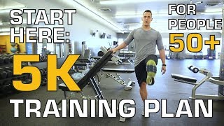 5k Training Plans for Beginners for Men and Women Over 50 - Start Here!