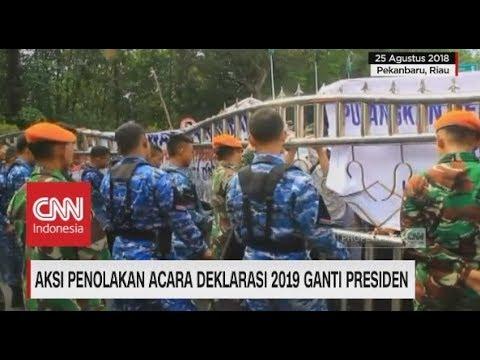 Aksi Penolakan Neno Warisman Berakhir Ricuh di Pekanbaru, Riau