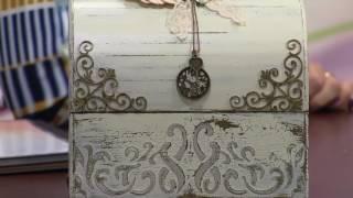 Bau Shabby Camila Claro Parte1- Mulher com   01 06 2016