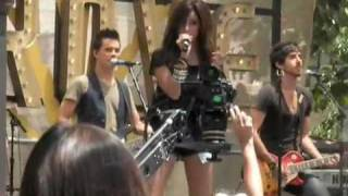 "Ashley Tisdale ""TELL ME LIES"" Live @ The Grove 6 27 09"