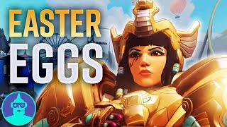 Blizzard World Easter Eggs You May Have Missed - New Map - Easter Eggs #15   The Leaderboard