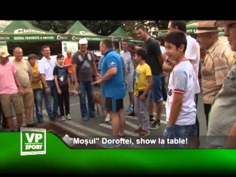 """""""Moșul"""" Doroftei, show la table!"""